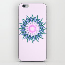 Mandala #108, Harmony in Pink iPhone Skin