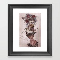 Lovely death Framed Art Print