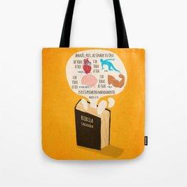 Marcos 12:30 Tote Bag