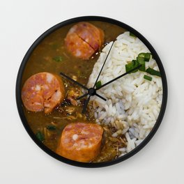 New Orleans Gumbo Wall Clock