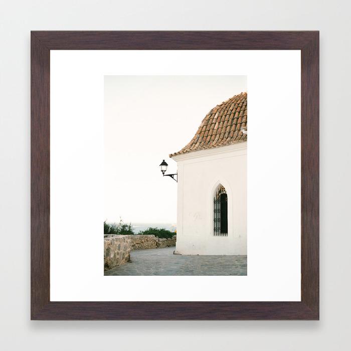 IBIZA LA ROCA SUNSET CANVAS PICTURE PRINT WALL ART HOME DECOR