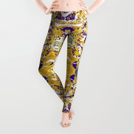 Tribal Block Print Leggings