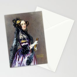 Portrait of Ada Lovelace by Alfred Edward Chalon Stationery Cards