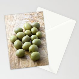 Spanish Manzanilla Olives Stationery Cards