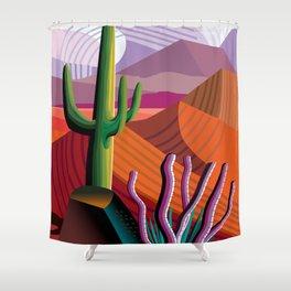 Black Canyon Desert Shower Curtain