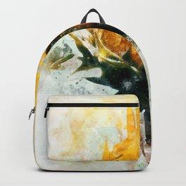 Born in Sunflower Backpack