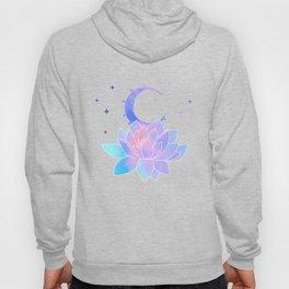 moon lotus flower Hoody