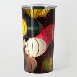 Colourful Lanterns of Hoi An, Vietnam Travel Mug
