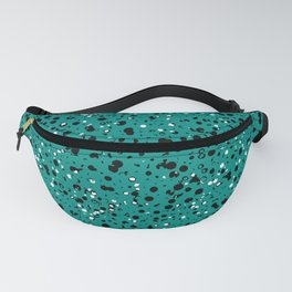 Speckled Emerald Fanny Pack