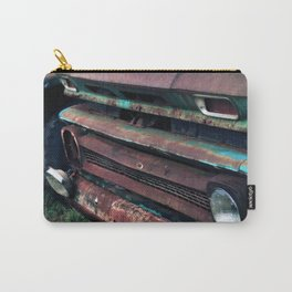 1960's Rusty Trucks Carry-All Pouch