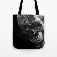 Mirrors Skull  Tote Bag