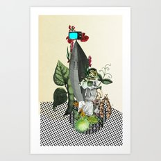 The truth is dead 2 Art Print
