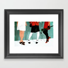Three Marlenas Framed Art Print