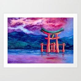 Tōri-iru Art Print