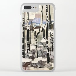 """First Snow"" Clear iPhone Case"