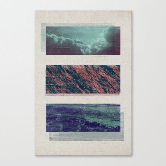 ELEMENTARY / 2 Canvas Print