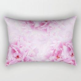 Pink Peonies Dream #1 #floral #decor #art #society6 Rectangular Pillow