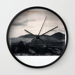 Kamloops Spectra B&W Wall Clock