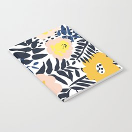 Outdoor: florals matching to design for a happy life Notebook