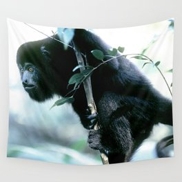 Howler Monkey in Costa Rica Wall Tapestry