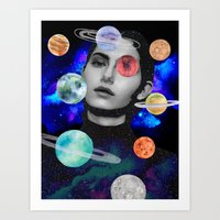 spaced out. Art Print