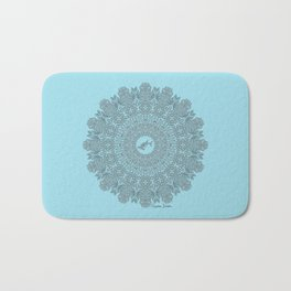 Tribal Hammerhead Shark Mandala Bath Mat