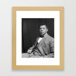 Booker T. Washington by Francis Benjamin Johnston, c. 1895 Framed Art Print