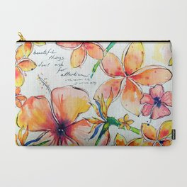 Beautiful tropical things Carry-All Pouch