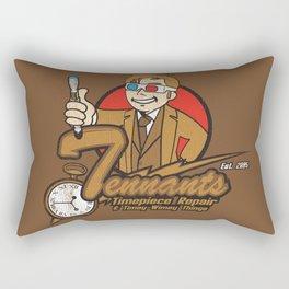 Tennants Timepiece Repair Rectangular Pillow