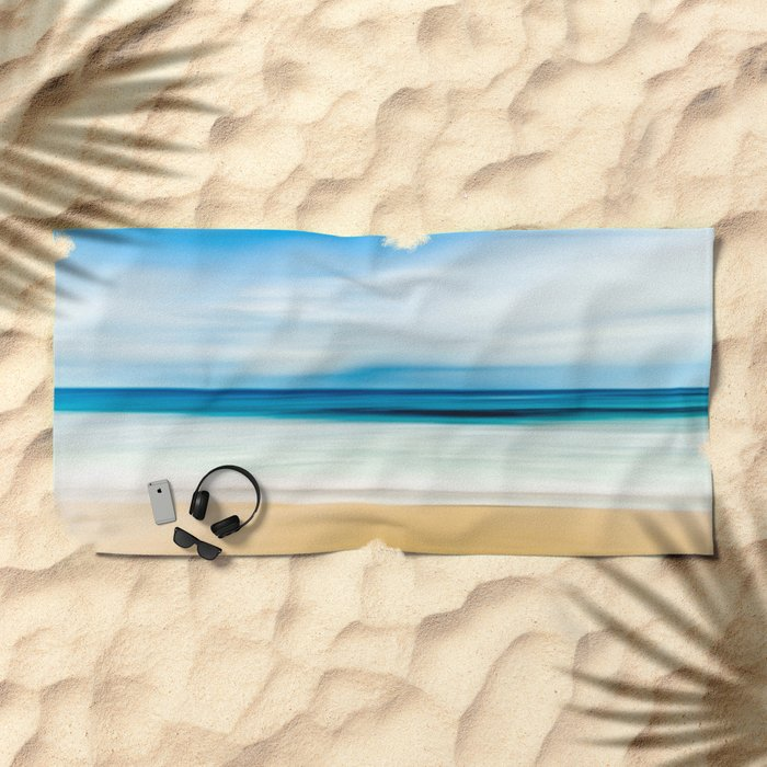 Beautiful Beach View Beach Towel
