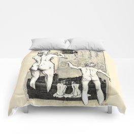 Nude Beach Comforters