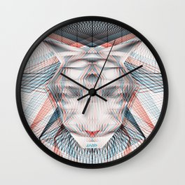UNDO | Out the hype, believe the hive Wall Clock