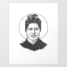 St. Josephine Bakhita Art Print