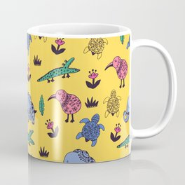 Cute Wild Animals Pattern Coffee Mug