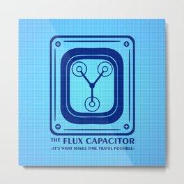 Capacitor Metal Print