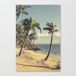 Maui Lu Beach Kihei Maui Hawaii Canvas Print