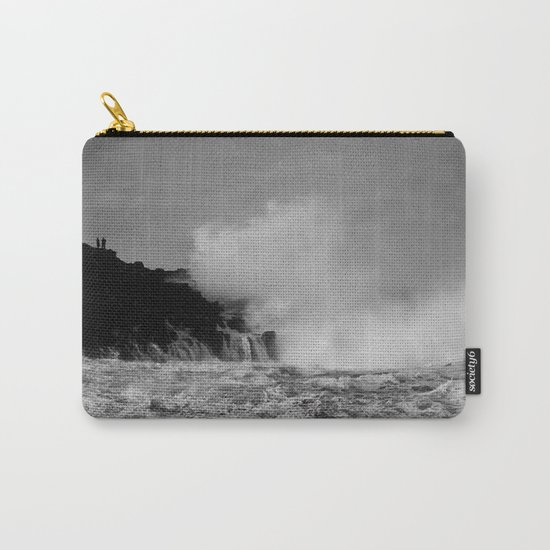 Wave watching Carry-All Pouch