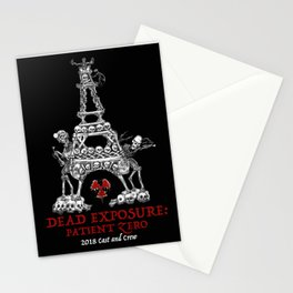Dead Exposure: Patient Zero (Eiffel Tower) Stationery Cards