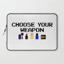 Lip-stick to Your Guns Laptop Sleeve