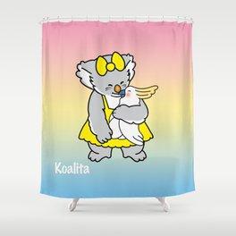 Koalita and friend Shower Curtain