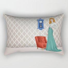 Austerity Rectangular Pillow