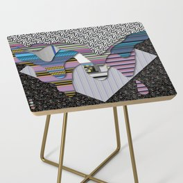 drippy black Side Table