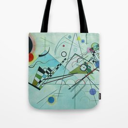 Vassily Kandinsky Composition VIII, 1923 Tote Bag