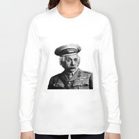 general Long Sleeve T-shirts featuring General Knowledge by GingerRogers