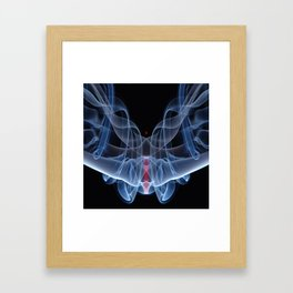 9124s Spirit Work by Chris Maher Visions of Smoke and Mirrors Framed Art Print
