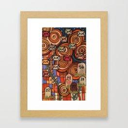 Mile 001 Framed Art Print