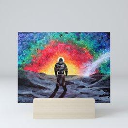 Spaceboy Luther Mini Art Print