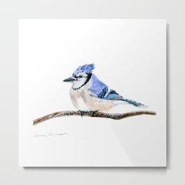 Blue by Teresa Thompson Metal Print