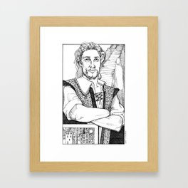 Well Rounded Framed Art Print