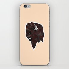 Geometrical Bison iPhone Skin